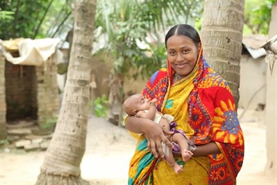 Mother in Bangladesh
